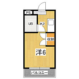 PRESTAGE・MISASAGI[4階]の間取り