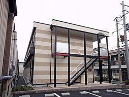 大阪府大東市諸福3丁目の賃貸アパートの外観