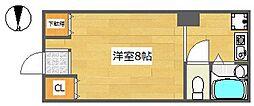リーガルメゾン京口[3階]の間取り