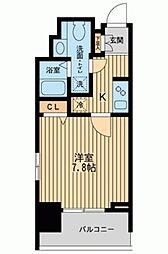 KDXレジデンス板橋本町[0801号室]の間取り