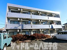 東京都日野市東豊田4丁目の賃貸マンションの外観