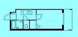 ヴァンティアン溝口[3階]の間取り
