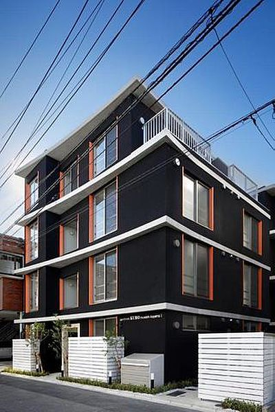 apartment KURO武蔵小山I[4階]の外観