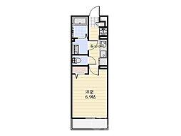 リブリ・セレッサ2[2階]の間取り