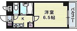 サンロイヤル長柄[5階]の間取り