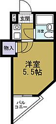 エスタイル天保山[2階]の間取り