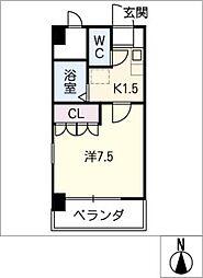 スライブ野並[2階]の間取り