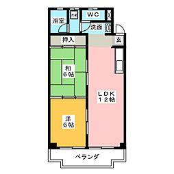末広ビル[2階]の間取り