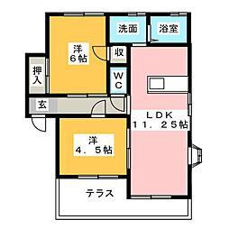 UraraII[1階]の間取り