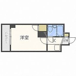 クリーンシャトー東札幌[5階]の間取り