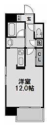 イーバイユー新大阪[805号室]の間取り