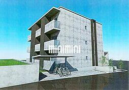 PRIUS若田[2階]の外観