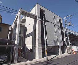 京都府京都市右京区西院春日町の賃貸マンションの外観