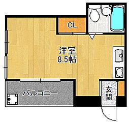 サテライト2[3階]の間取り