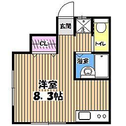 サウスピア吉祥寺[1階]の間取り