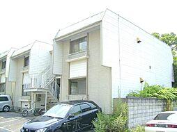 広島県広島市東区牛田東2丁目の賃貸アパートの外観