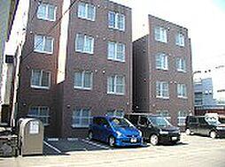 北海道札幌市豊平区美園八条6丁目の賃貸マンションの外観