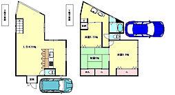 [一戸建] 兵庫県神戸市垂水区西舞子8丁目 の賃貸【/】の間取り