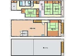 39様貸家(常磐)[2階]の間取り