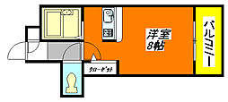 CTビュー・永和 207号室[2階]の間取り