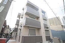 大阪府大阪市城東区諏訪1丁目の賃貸アパートの外観