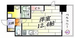 小西マンション[5階]の間取り