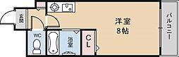 CTビュー小阪[301号室]の間取り