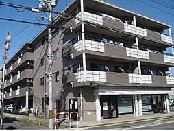 滋賀県野洲市久野部の賃貸アパートの外観
