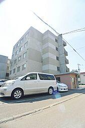 北海道札幌市豊平区美園三条4丁目の賃貸マンションの外観