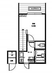 セントラルタウン[2階]の間取り