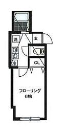 神奈川県川崎市多摩区枡形2の賃貸アパートの間取り
