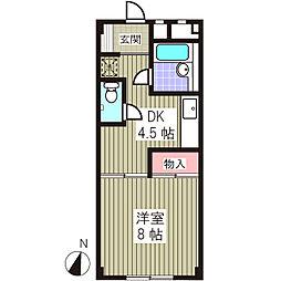 マンションタカノ[301号室]の間取り