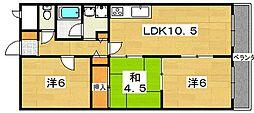 ORCHID KOIDE[2階]の間取り