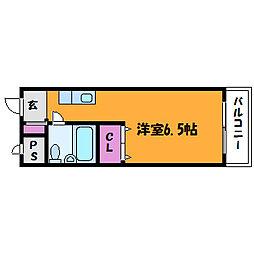 メゾンドソフィー[4階]の間取り