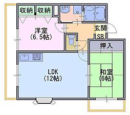 ソレーユYAMADA[3階]の間取り