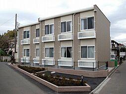 神奈川県相模原市南区西大沼2の賃貸アパートの外観