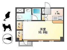 KDXレジデンス東桜I[10階]の間取り