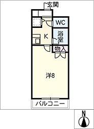 グリーンふたむら2号館[2階]の間取り
