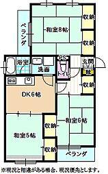 仲ノ町片桐屋ビル[3階]の間取り