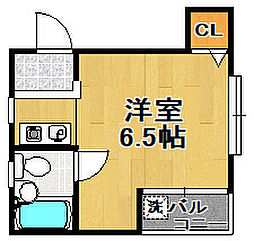 ハイツカイヨウ[2階]の間取り
