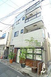 東京都文京区根津2丁目の賃貸アパートの外観