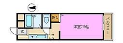 セティオ2番館[1階]の間取り
