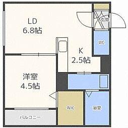 Arena[1階]の間取り