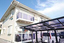 埼玉県越谷市花田6丁目の賃貸アパートの外観