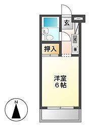 メゾン・ド・カンパーニュ[3階]の間取り