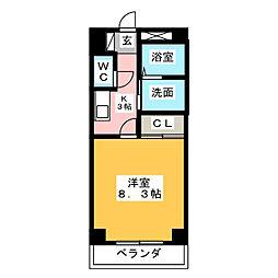 ANNEX UEDA[2階]の間取り