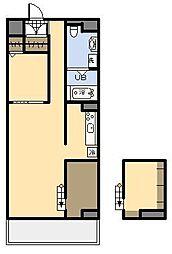 (新築)AKH K[203号室]の間取り