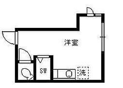 東京都杉並区高円寺南5丁目の賃貸アパートの間取り
