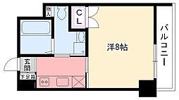 BELAIR江上[406号室]の間取り