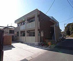京都府京田辺市興戸和井田の賃貸アパートの外観